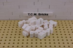 TCM Compatible Bricks Light Bluish Gray Brick 1 x 2 x 2 50 Pieces QTY