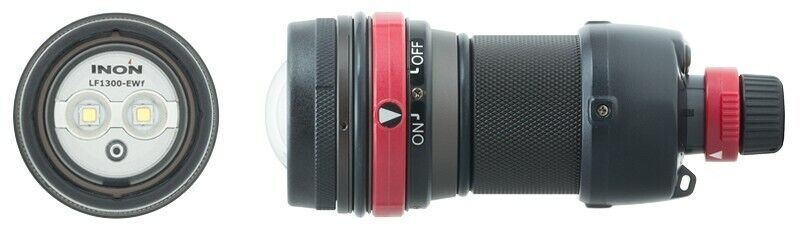 INON LF1300-EWf Illuminator Dive Focuslight With Auto Shut off Power