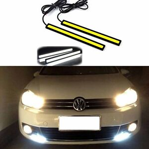 Waterproof-12V-LED-COB-Car-Auto-DRL-Driving-Daytime-Running-Lamp-Fog-Light-2pcs