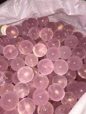 35-40mm RARE Natural Rose Quartz Crystal Sphere Ball Healing