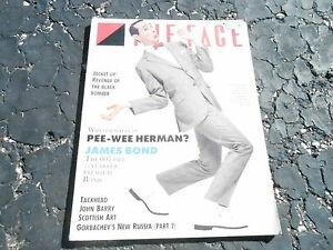 JULY-1987-THE-FACE-vintage-magazine-PEE-WEE-HERMAN-JAMES-BOND