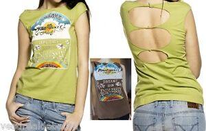 T-Shirt-Maglietta-Maglia-Donna-Top-MISS-SIXTY-D186-Tg-S-XL