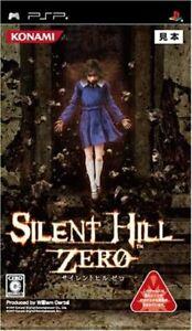 Sony PSP/PlayStation Portable-Silent Hill Zero japón con embalaje original