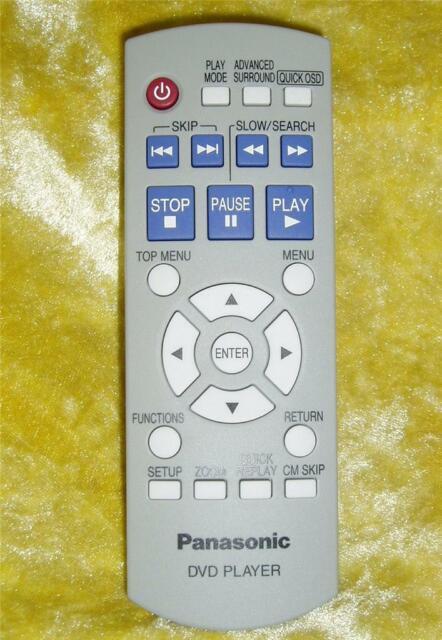 Panasonic Remote Control N2QAYB000011  for DVD