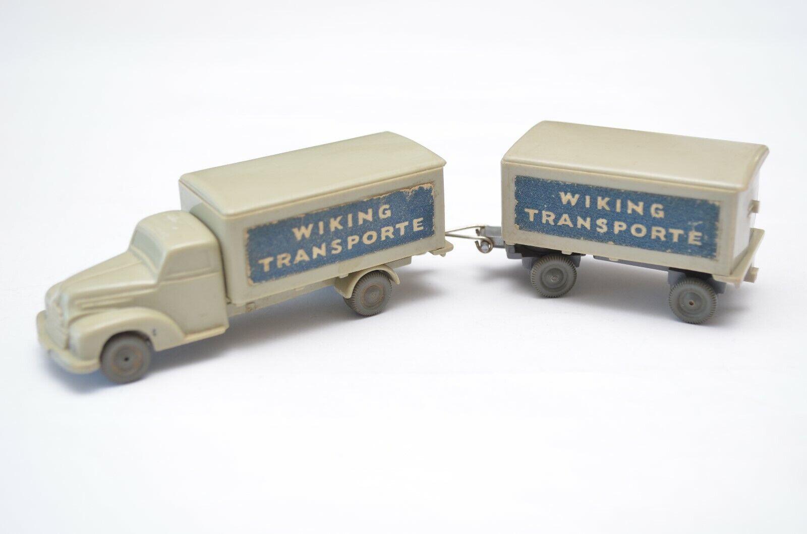 Wiking Transporte 176 2E unverglast Ford 3500 Gliederzug Modell HO 1 87