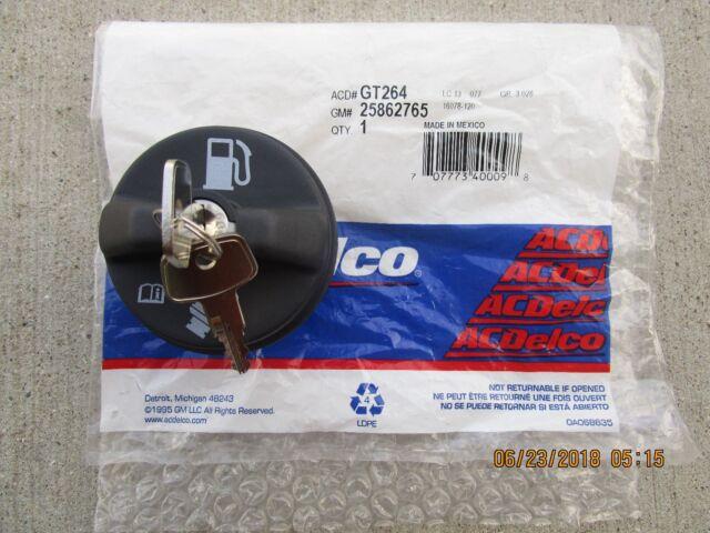LOCKING Gas Cap for Fuel Tank with Keys 10504 for Silverado Express Van