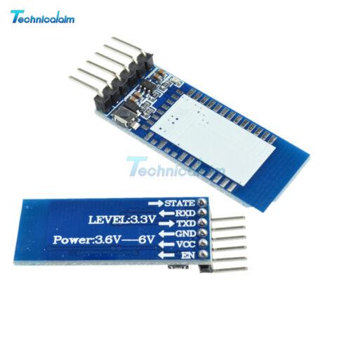 2PCS Interface Base Board Serial Transceiver Bluetooth Módulo HC-05 06 Arduino
