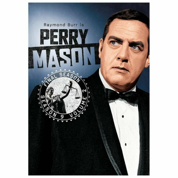 Perry Mason: Season 9, Final Season, Vol. 2 (DVD, 2013, 4