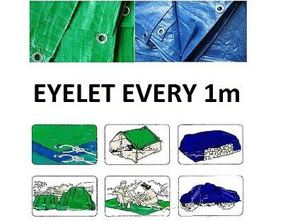 HEAVY DUTY TARPAULIN / GROUND SHEET / CAMPING, ALL SIZES&COLOURS FAST DELIVERY!!