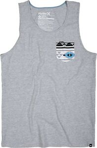 8d9db860b6ee9 Image is loading NEW-MENS-HURLEY-PREMIUM-POCKET-KNIT-TANK-SLEEVELESS-