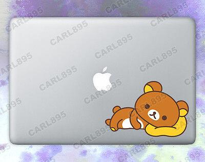 San-X Rilakkuma (A) Color Vinyl Sticker for Macbook Air/Pro
