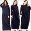 Abaya-Muslim-Women-Dress-Batwing-Sleeve-Loose-Kaftan-Islamic-Dubai-Jilbab-Robe thumbnail 41