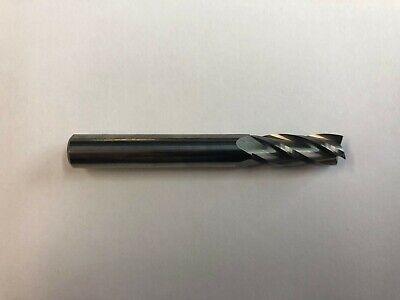 "5//16/""  2-Flute Carbide End Mill Center Cutting   made by Titan USA New 5 Pcs"