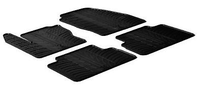 24415 - Set Tappeti Lampa Su Misura In Gomma Per Ford C-max /c-max 7 Posti 10>15