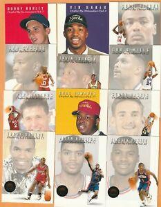 1993-94-Skybox-Premium-Draft-Picks-Cheaney-Hurley-Baker-Houston-Mills-13-cards