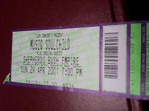 Musiq-Soulchild-ticket-Shepherds-Bush-Empire-London-April-2001