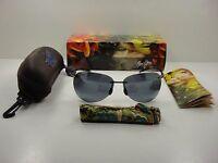 Maui Jim Sugar Beach Polarized 421-02 Sunglasses Black Frame/grey Lens,