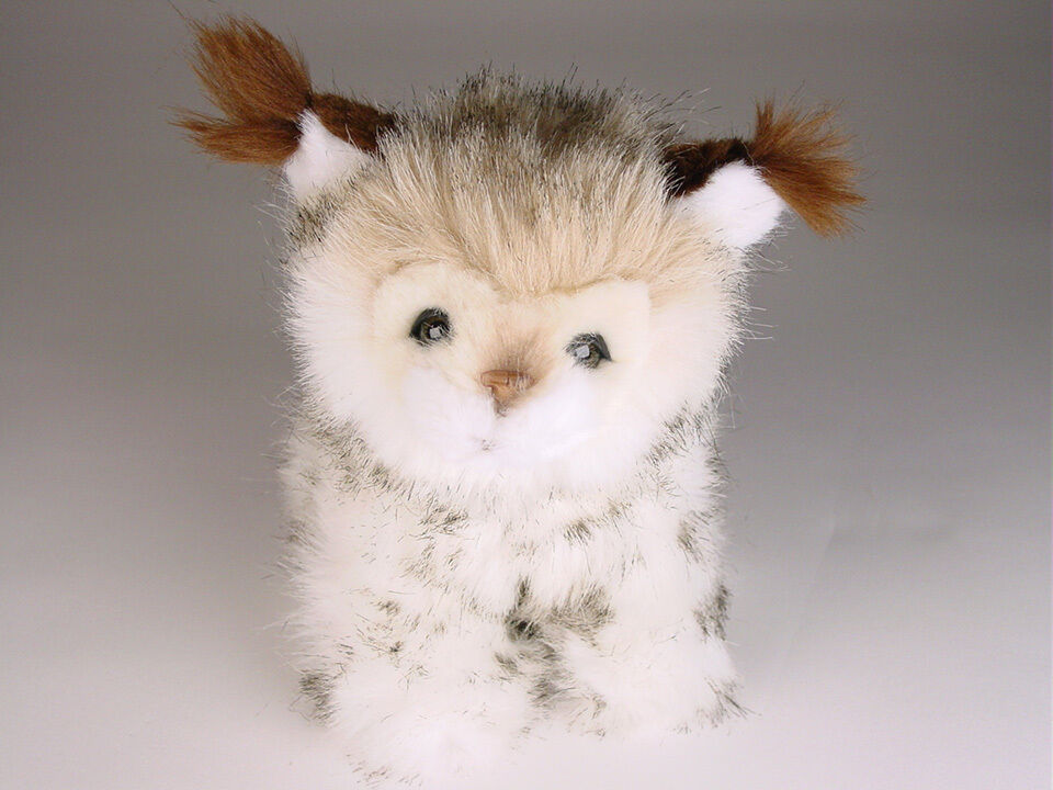 Lynx Cub av Piutre, Hand Made in , Plush Stuff djur NWT