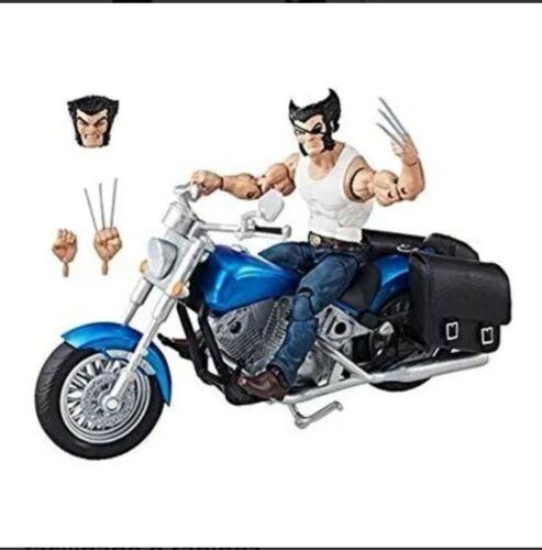 Marvel Legends coffret collector Wolverine Avec Moto