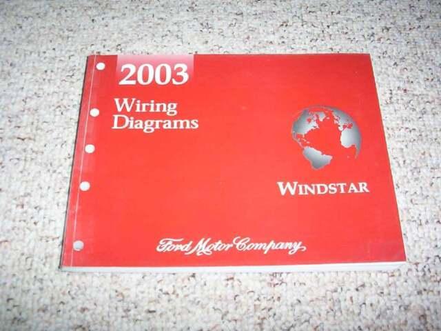 2003 Ford Windstar Electrical Wiring Diagram Manual Lx Se
