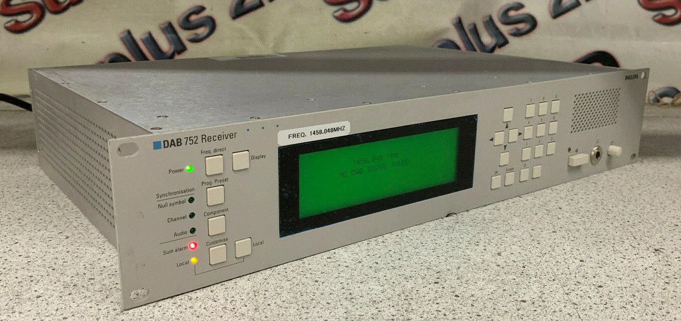 Philips DAB 752 00 Digital Audio Receiver (FREQ 1458.048 MHZ)