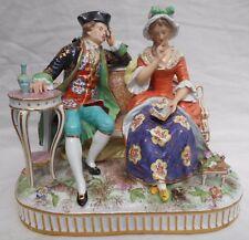 French Paris Porcelain Figure Bourdois & Bloch Porcelaine de Paris Height 20cm