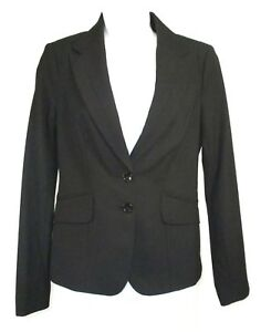 Limited-Collection-Womens-Black-Blazer-Career-Jacket-Size-2