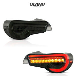 LED Tail Lights For Toyota 86 12-19& SUBARU BRZ 13-19 & SCION FRS 13-16 Smoked