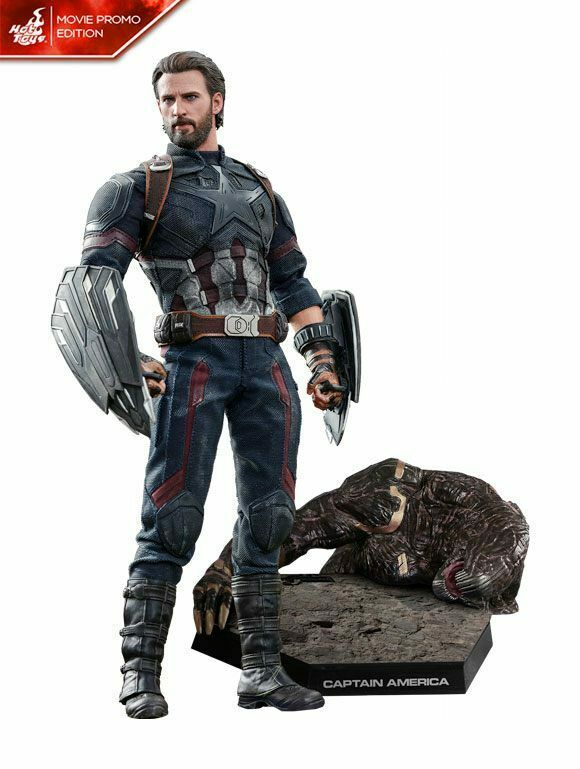 Avengers Infinity War figurine Movie Masterpiece Captain America Movie Promo