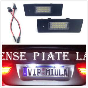 2X LED License Number Plate Light No Error Fit BMW E63 E64 F06 F12 F13 Z4 I01 i3
