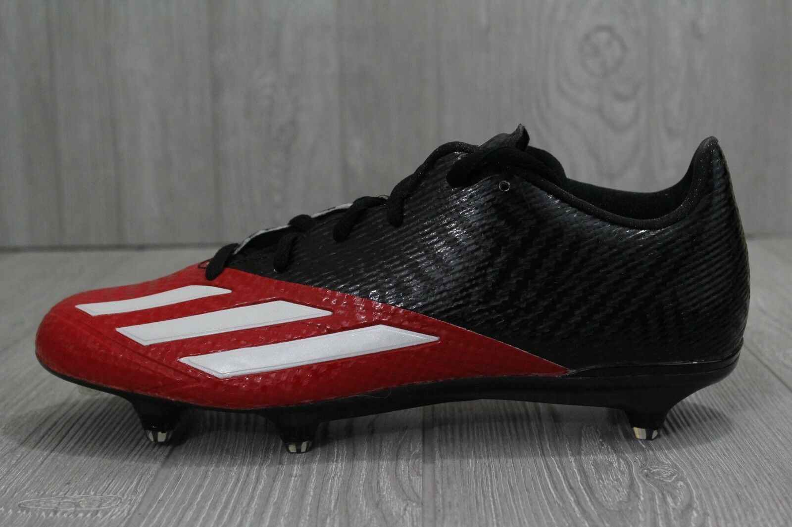 30 RARE Adidas Adizero 5 Star 5.0 Low Football Red Cleats Screw In AH1333 11