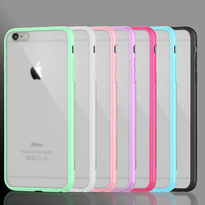 release date: 041c9 efd31 Details about Silicone Rubber Frosted Bumper Case Cover For iPhone 4 4s 5  5s SE 6 6S Plus