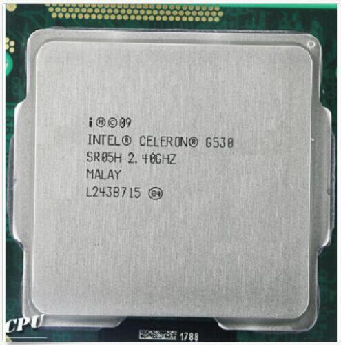 Intel Dual-core G530 G540 G550 1155Pin 2M//32NM//65W Desktop CPU