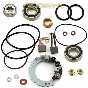 NEW Starter Rebuild Kit Honda Motorcycle GL1200 GL1200A GL1200I 2 Brush