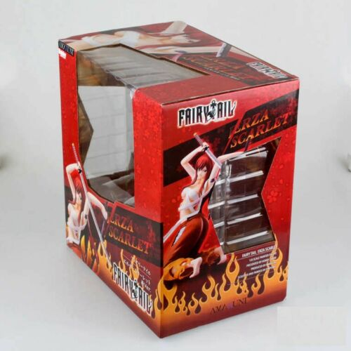 Anime Fairy Tail Erza Scarlet PVC Action Figure Figurine Toy Gift In Box