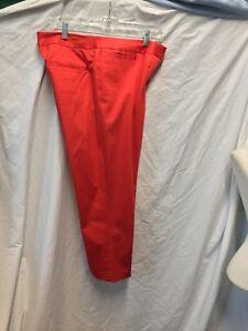 10 148 à la Lafayette en devant réelle X Pantalon stretch plat coton 24 Taille cheville pww7qH