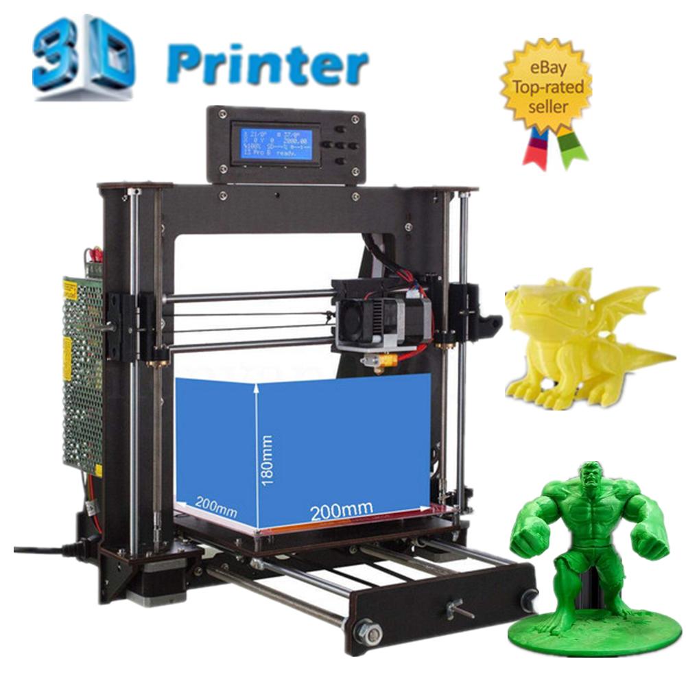 3D Printer DIY Upgraded Full Quality High Precision Reprap CTC i3 MK8 LCD DIY