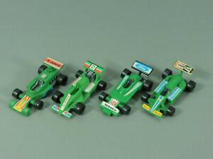 Coches-Formula-X-Autosalon-1987-Set-Completo-Verde