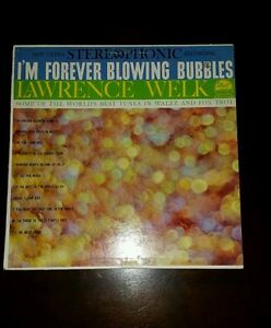 Lawrence-Welk-Im-Forever-Blowing-Bubbles-Record-LP-33
