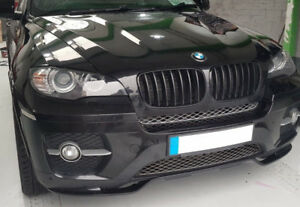 Details About Performance Splitter For Bmw X6 E71 Se Front Bumper Spoiler Sport Valance M