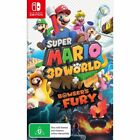Super Mario 3D World + Bowser's Fury -- Standard Edition (Nintendo Switch, 2021)