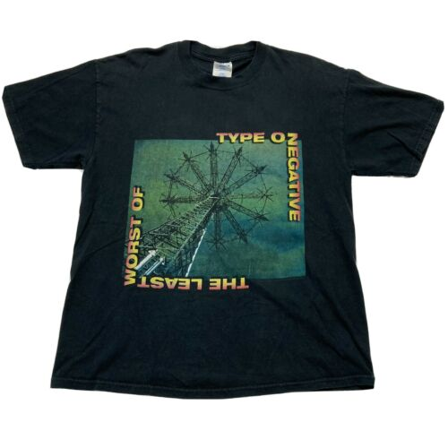 Vintage Type O Negative Shirt The Least Worst Of 2