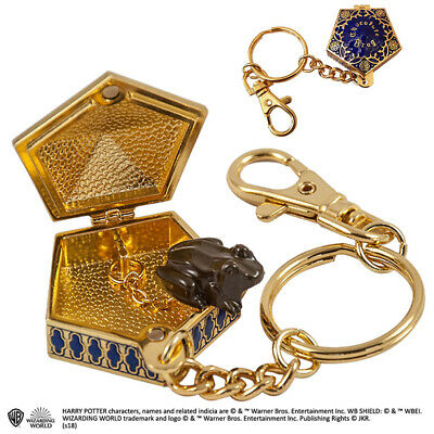 PräZise Harry Potter Chocolate Frog Keychain Noble Collections Spezieller Sommer Sale
