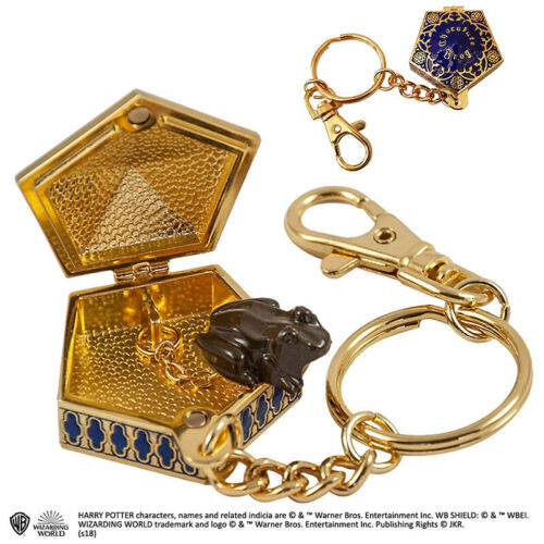 Harry Potter Chocolate Frog Keychain NOBLE COLLECTIONS