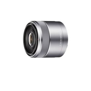 SONY-single-focus-lens-E-30mm-F3-5-Macro-Sony-E-mount-for-APS-C-SEL30M35-Silver