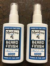 Maestro's Classic Mark of a Man Beard Finish 3oz Each