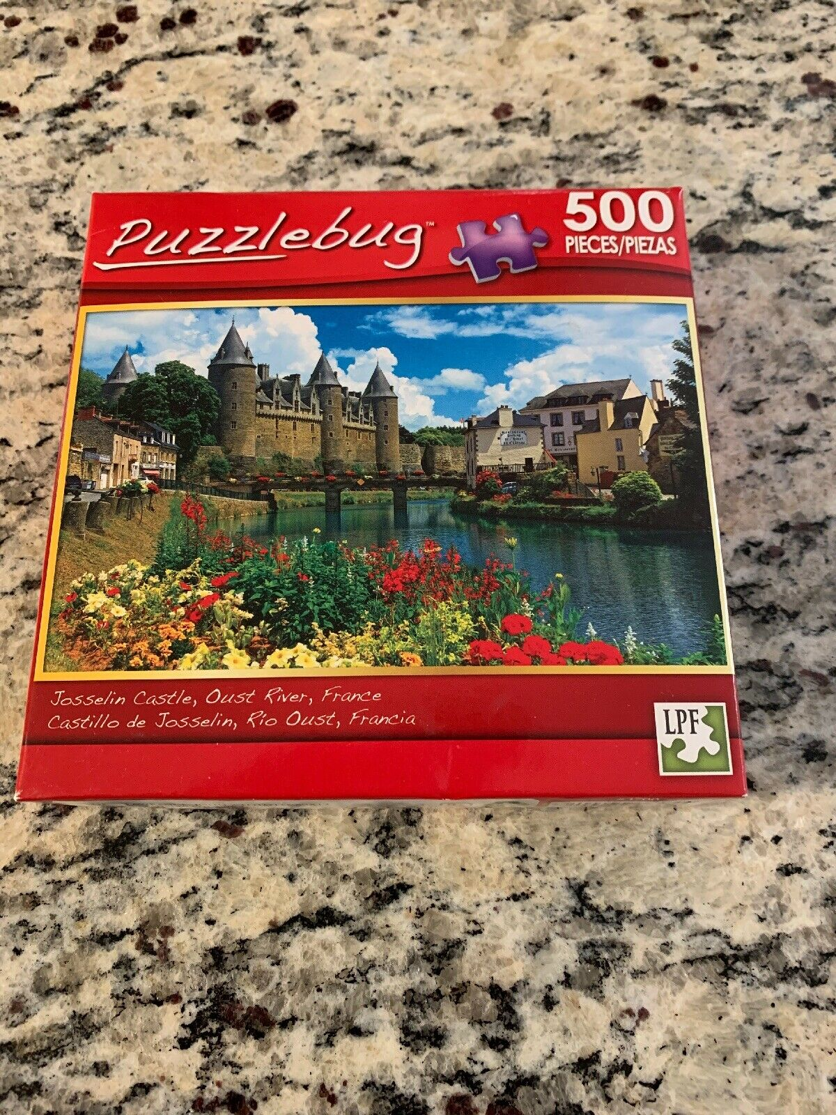 NEW by Puzzlebug by Puzzlebug Hautefort Castle France 300 Pc Jigsaw Puzzle