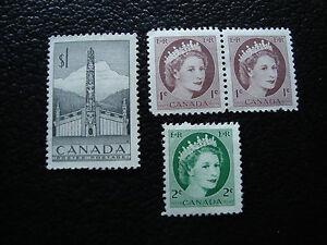 Kanada-3-Briefmarken-Nsg-A13-Briefmarke-Kanada