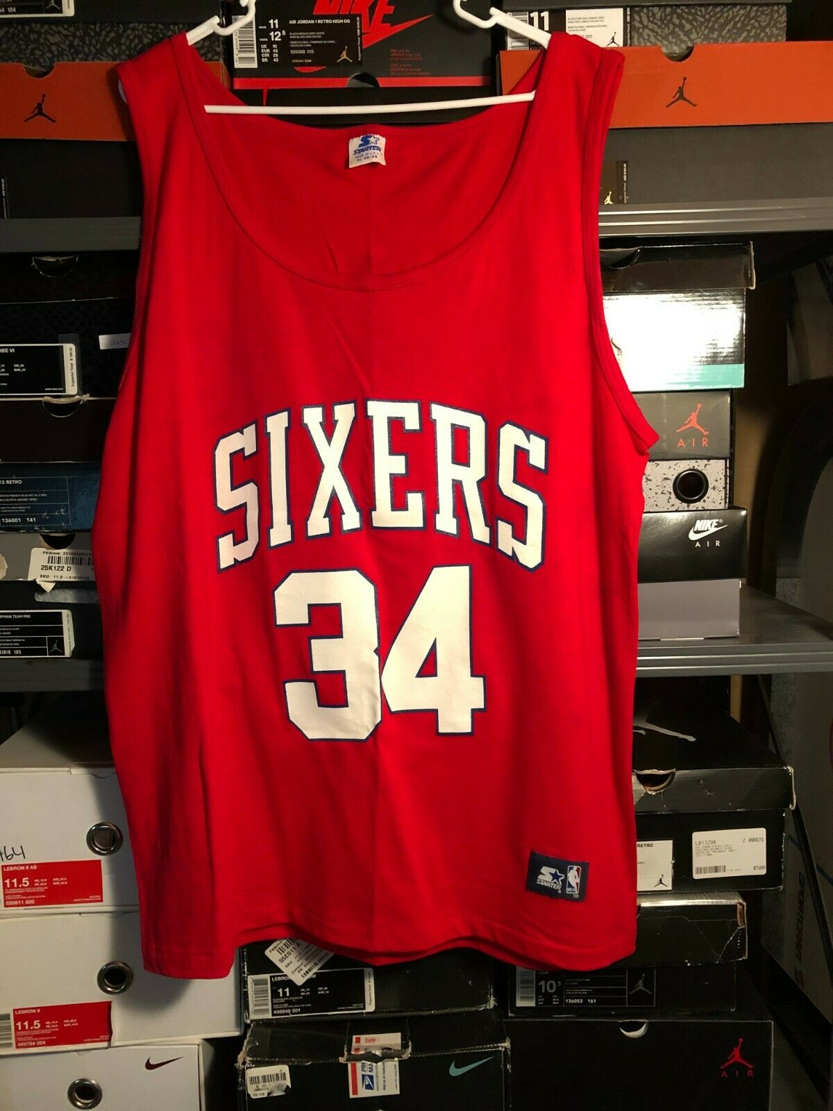charles barkley 76ers jersey
