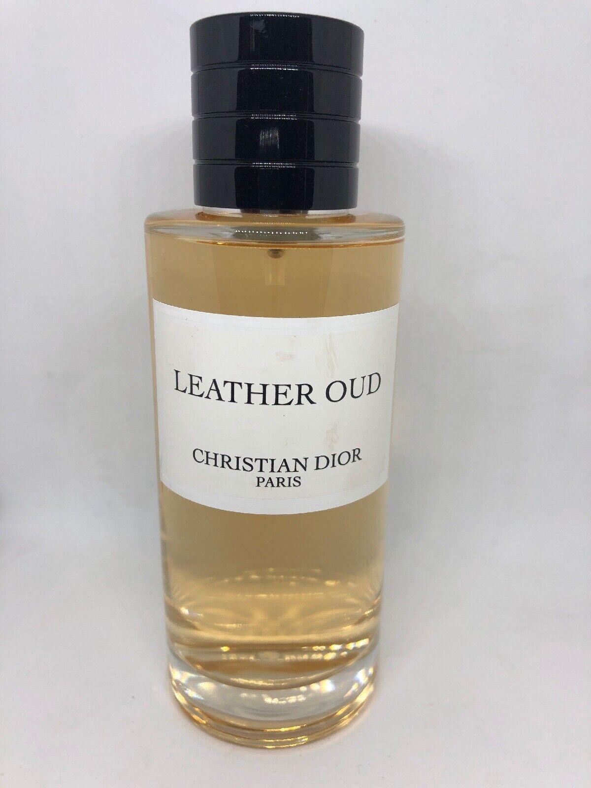 Gris Montaigne Christian Dior leather oudchristian dior eau de parfum 125ml/4.2oz - new - no box